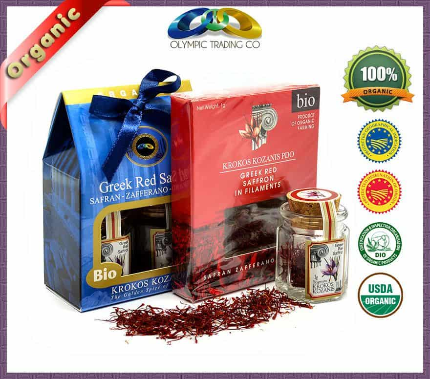Wholesale Organic Greek Saffron