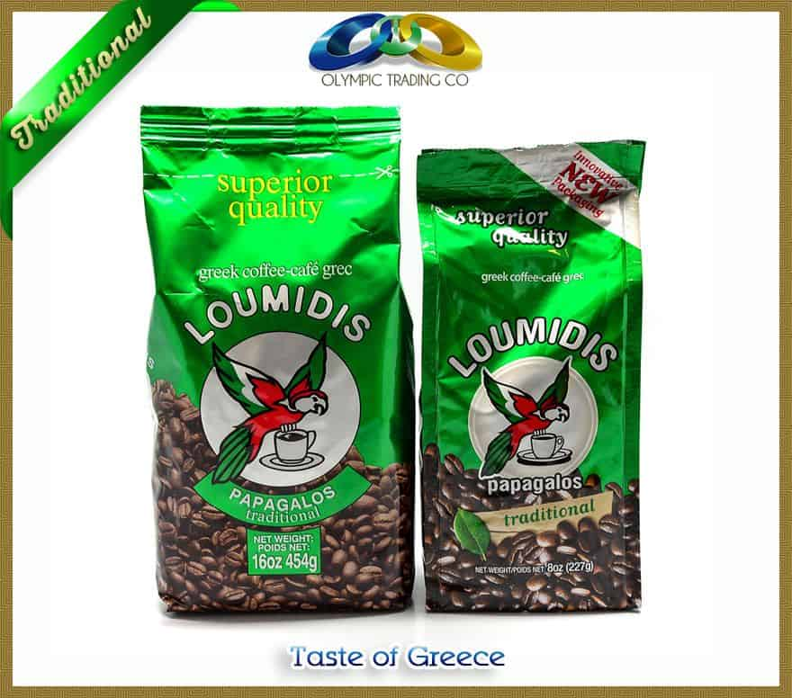 Greek Coffee Loumidis Papagalos