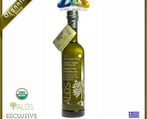 Greek Organic Superior EVOO Alos