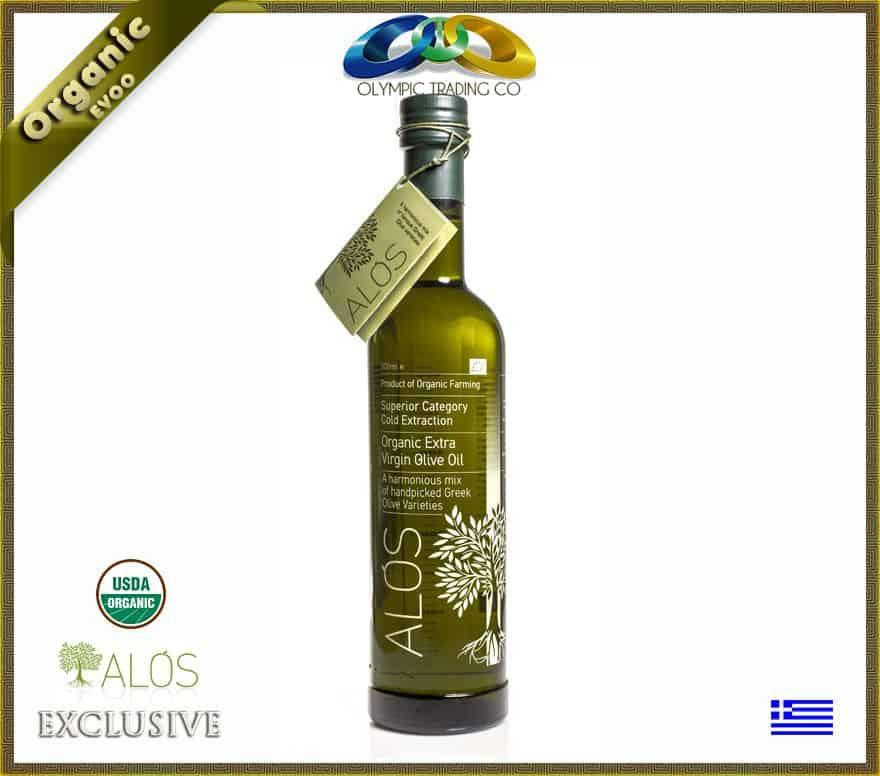 Greek Organic Superior EVOO Alos