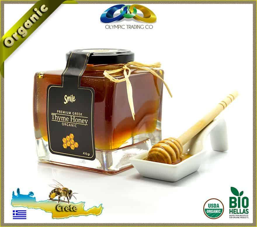Premium Organic Thyme Honey Smile