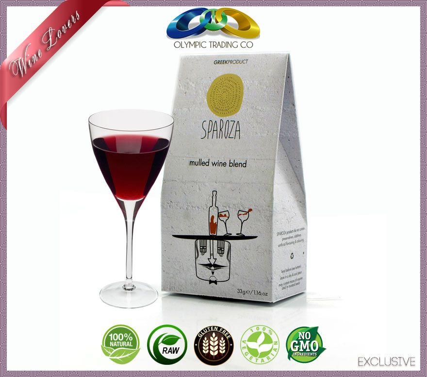 Unique Mulled Wine Blend - SPAROZA