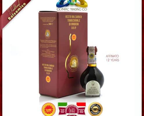 Traditional Balsamic Vinegar of Modena P.D.O. - AFFINATO - 12 YEARS