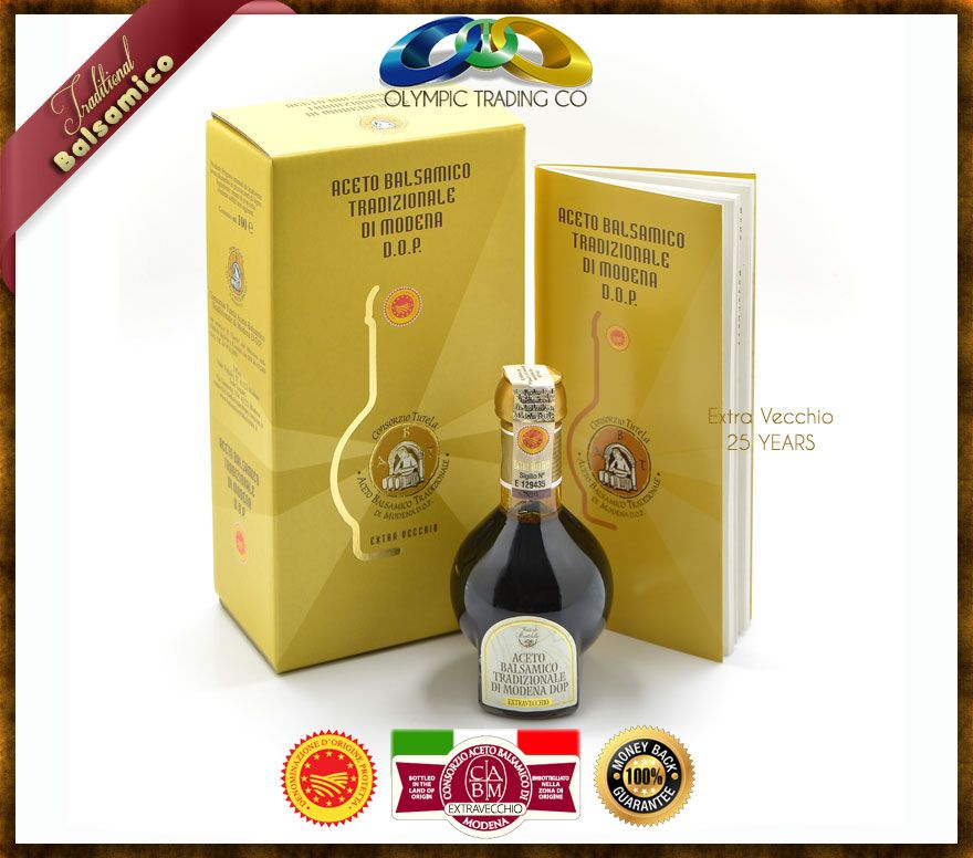 Traditional Balsamic Vinegar of Modena P.D.O-EXTRAVECCHIO - 25 YEARS