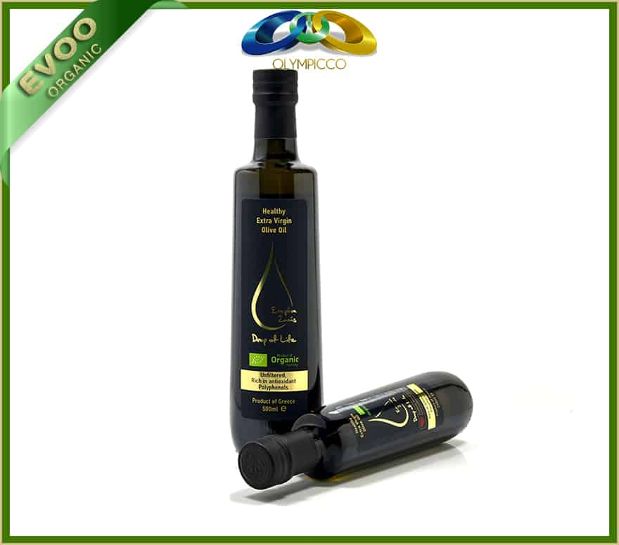 Organic Extra Virgin Olive Oil Drop of Life