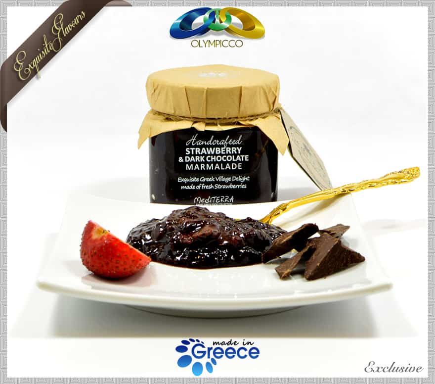 Strawberry Dark Chocolate Marmalade